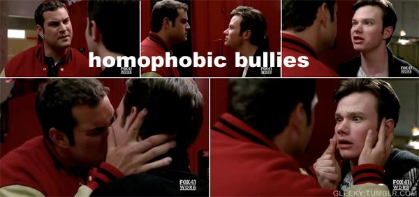 Bully gay en regocijo