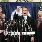 Boehner sings