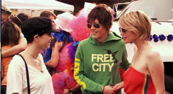 City friendly lesbian