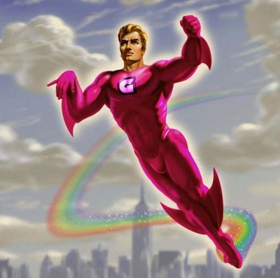 incite-GAY SUPERHERO OR SHELLFISH
