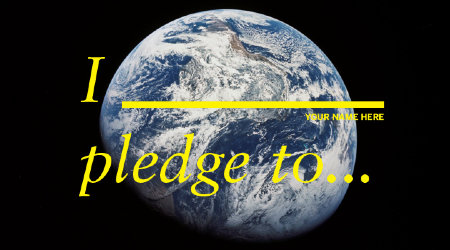 good magazine's earth day pledge