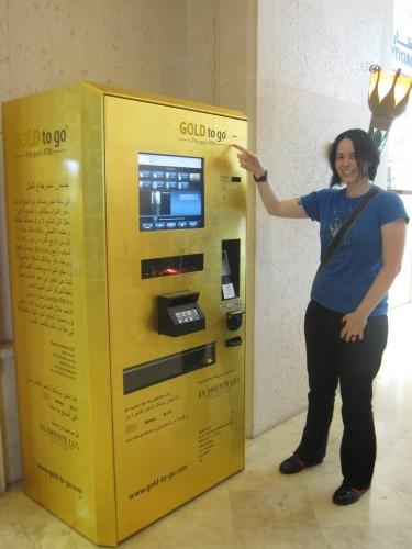 gold vending machine dubai