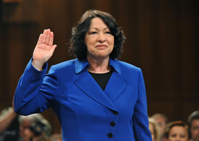 Claim that gay judge is unfit to rule on prop 8 gets its for Sonia sotomayor coloring page
