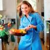 Cat Cora, celebrity chef (L)