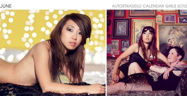 Autostraddle Lesbian Calendar Girls Franny Real L Word is June 2012