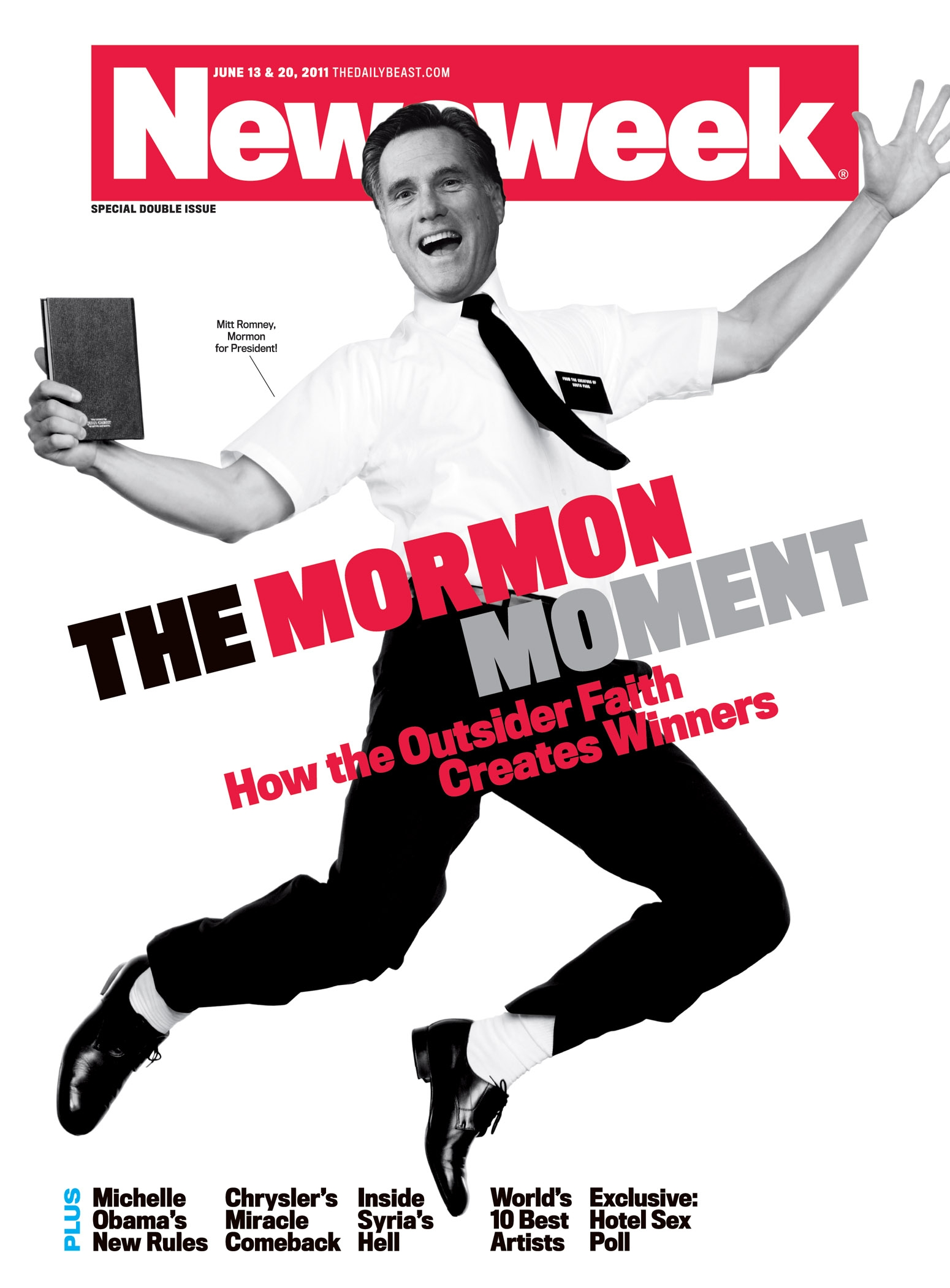 "Cover Story For Wired Uk Kevin Gray S Portfolio: Newsweek Celebrates ""The Mormon Moment,"" Clearly Still"