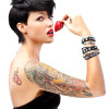 Ruby Rose, model/vj (L)