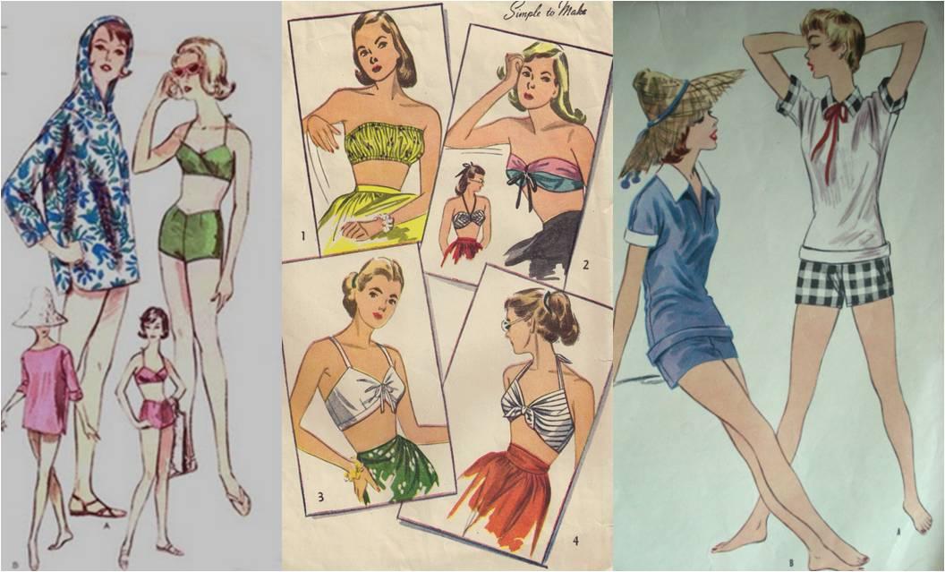 Vintage Swim Suit Pattern 69