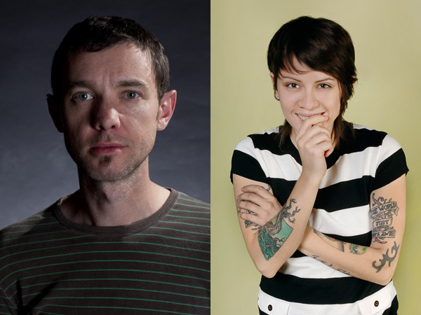 Jim Ward and Tegan Quin