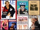 100 Awesome Magazine Covers Starring Lesbians