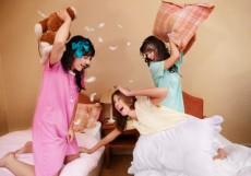pillow-fight