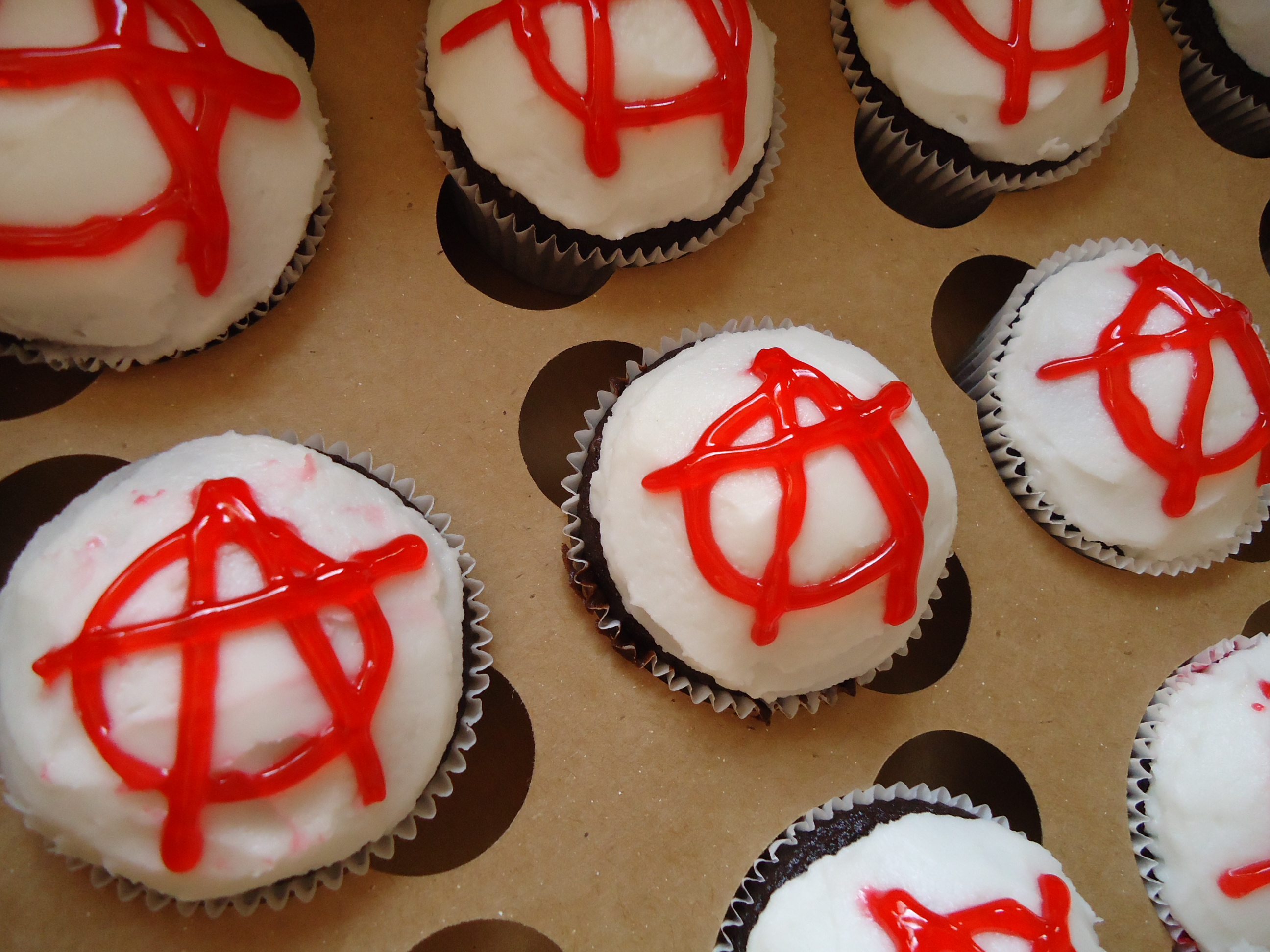 anarchist cupcakes