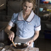 Keri Russell as Jenna in WAITRESS, directed by Adrienne Shelly.  Photo Credit:  Night & Day Pictures/Alan Markfield.