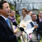 David Cameron at Pride 2010 via Reuters