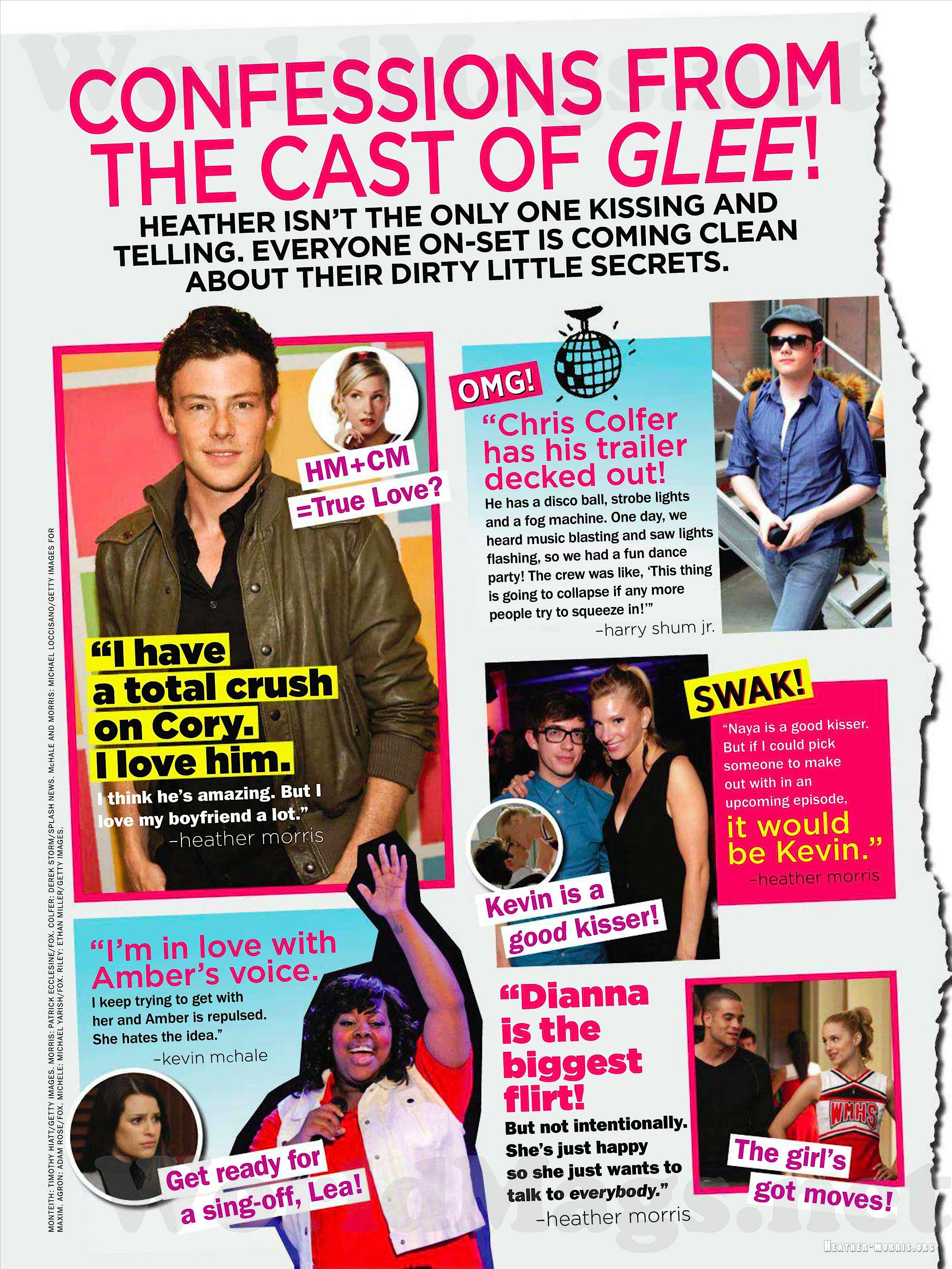 glee cast really dating Nothing like a glee reunion to lift your spirits and take you back to a better time the cast and crew from the hit ryan murphy series got together in los angeles this week for a.