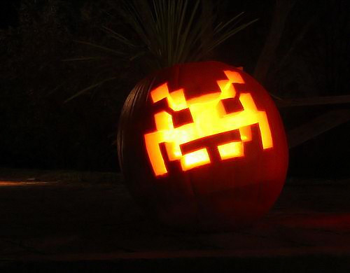 spaceinvaderpumpkin