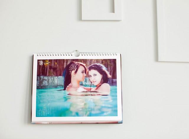 2012 Lesbian Calendar for Sale for the Holidays, Robin Roemer