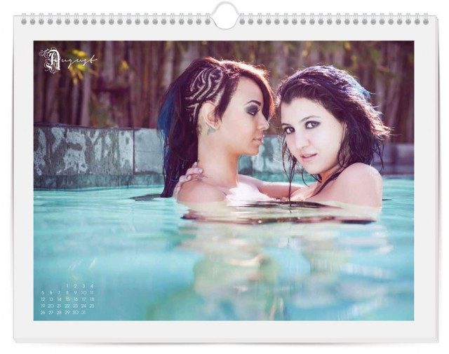 Autostraddle 2012 Calendar August