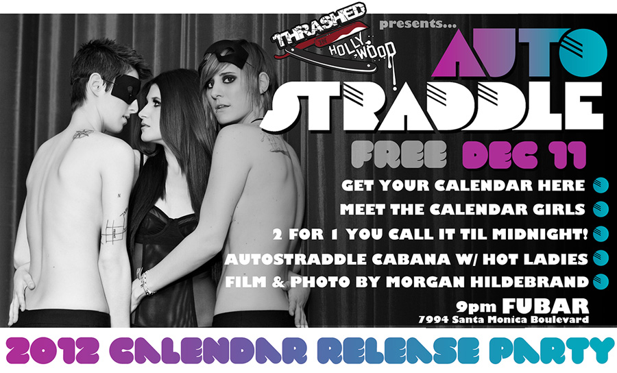 Autostraddle 2012 Calendar Release Party
