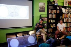 artist talk monkey wrench books