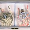 Dorian 2011, intaglio & paper sculpture
