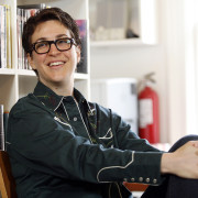 Rachel Maddow at Elisabeth Irwin HS, Manhattan, NY