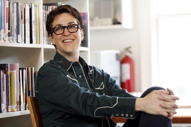Rachel Maddow at Elisabeth Irwin HS, Manhattan, NY