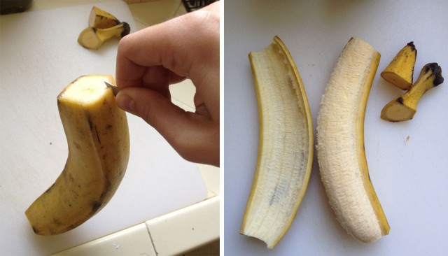 Guys jerk off with banana — img 3
