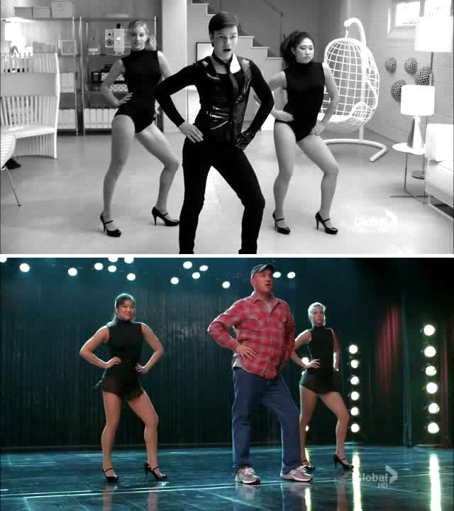 All the single ladies video with justin timberlake