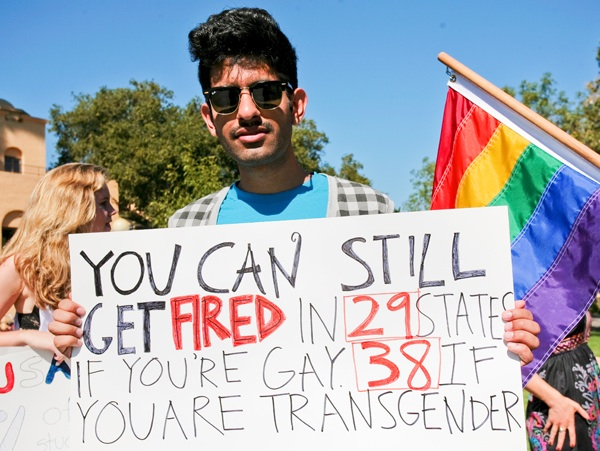 Gay discrimination work