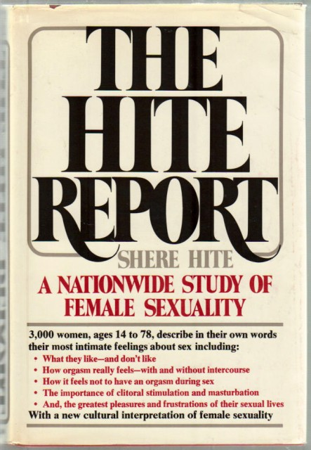 Agree, hite report masturbation consider, that
