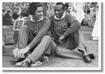 Helen Stephen and Jesse Owens