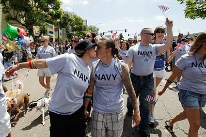 navy kiss
