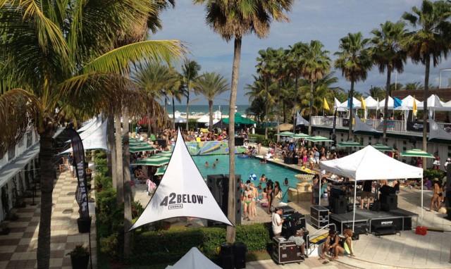 Friday-Aqua-Girl-pool-party-Surfcomber-hotel