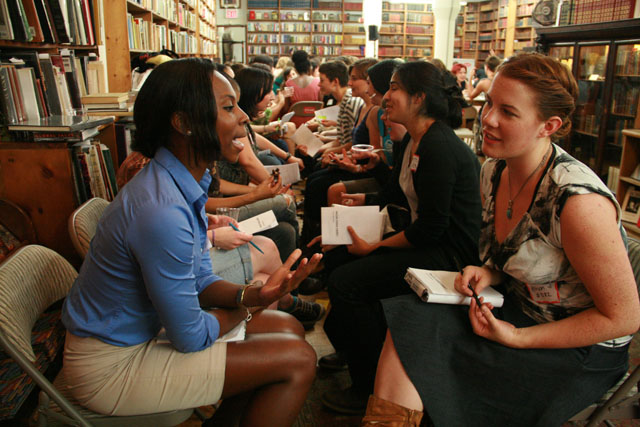 why is no one online dating: queer ladies speed dating at the strand