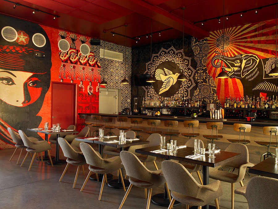 Wynwood-Kitchen-interior-walls-Shepard-Fairey-by-Mark-Roskams