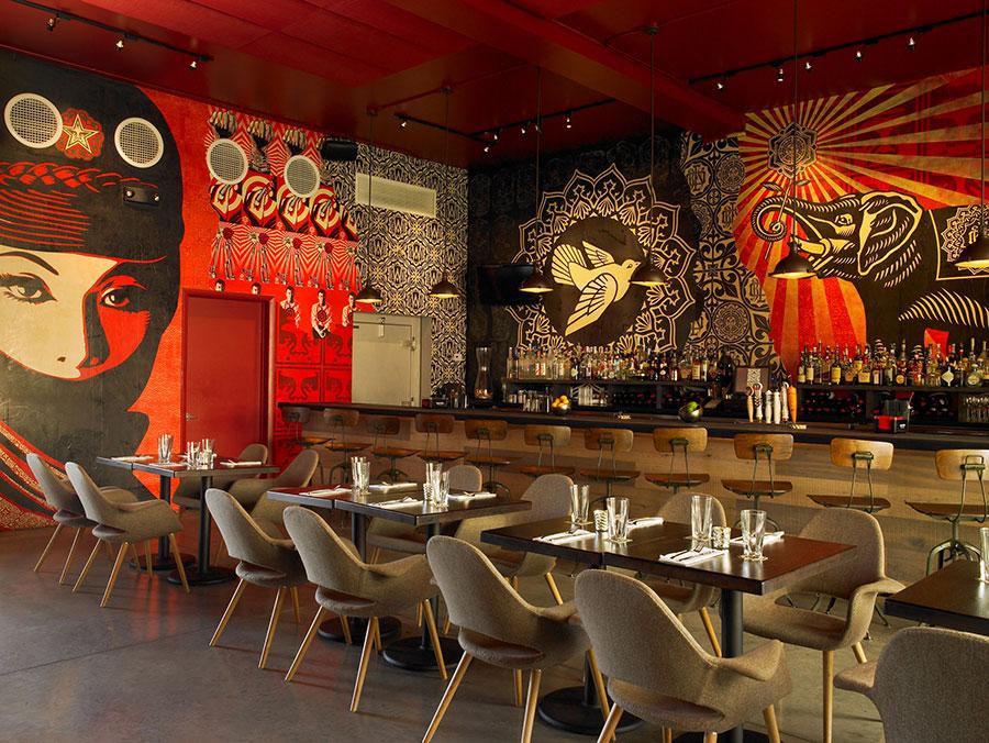 Wynwood-Kitchen-interior-walls-Shepard-Fairey-by-Mark-Roskams