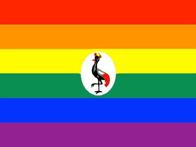 gay uganda flag