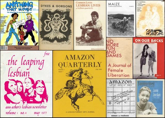 lesbian publications
