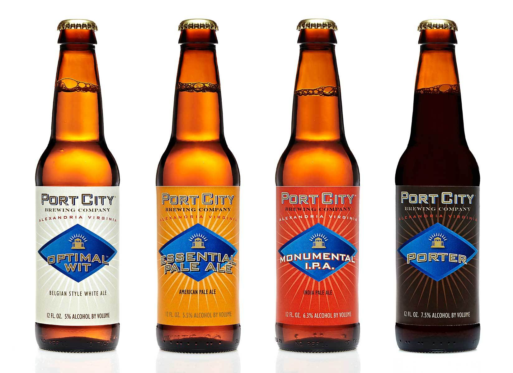 Port City Brewing Co - BEER SELECTION