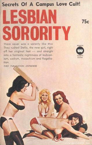 University babe hazed by lesbian sorority