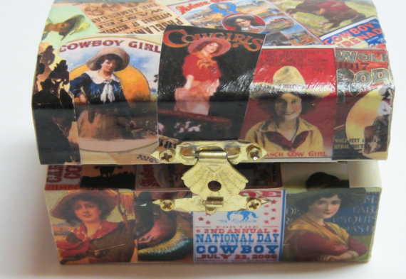 COWGIRL BOX!!!! via Extraordinary Boxes