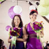 *andrea and alice, photographed by ericacamilleproductions.com, via offbeatbride