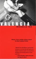 "Books with lesbian sex: Cover art of Michelle Tea's ""Valencia,"""