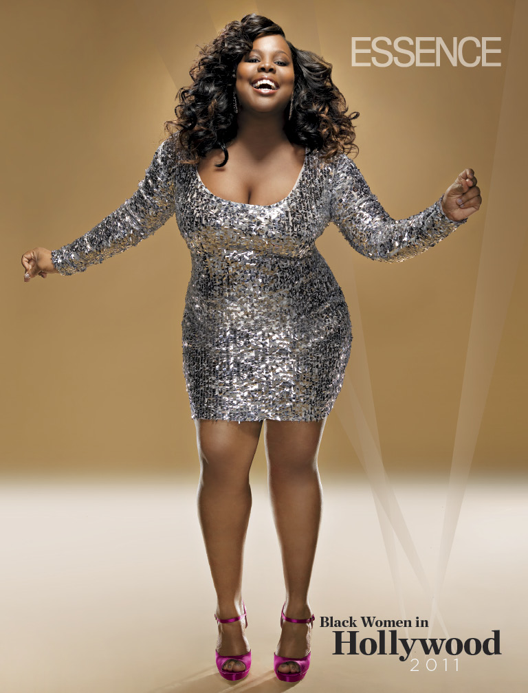 Amber Riley via Essence Magazine