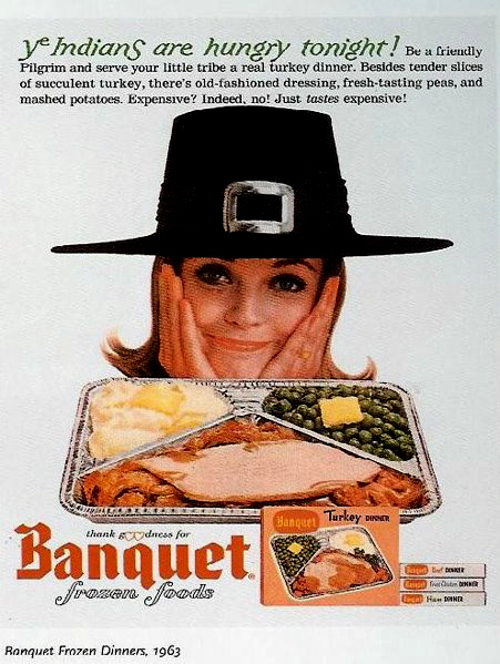 Banquet Frozen Thanksgiving TV Dinner