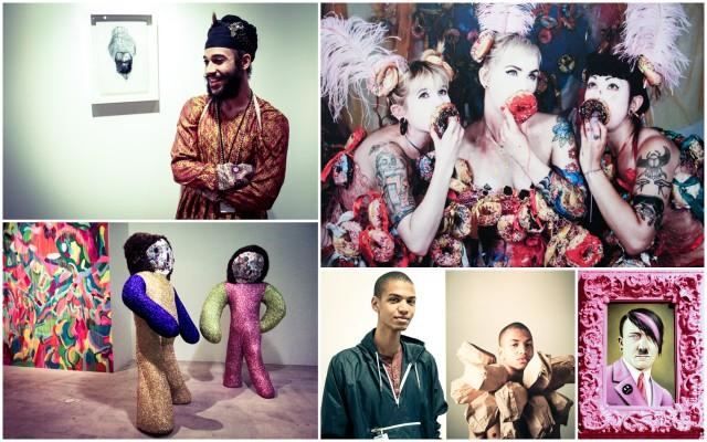 Clockwise: Jatinder Singh Durhailay, Victoria F. Gaitan, Scott Scheidly, Wilmer Wilson, Rebecca Rainey