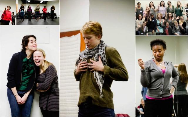 rehearsal photos by Marielle Solan