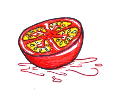 Tomatoes for everything. Seriously