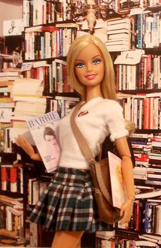 barbie-at-the-library